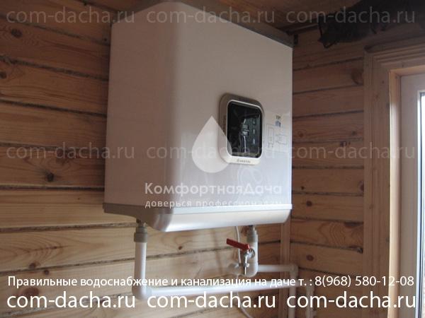 Устанавливаем электрические водонагреватели