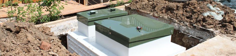 Канализация при высоких грунтовых водах: решения
