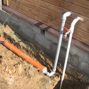 Водоснабжение и канализация на даче своими руками